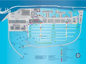 Brighton Marina Map