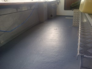 New Anti-Slip Coating to deck