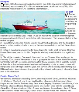 Extract from SeaSearch Report