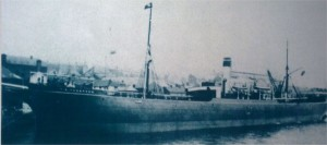 TR Thompson in port