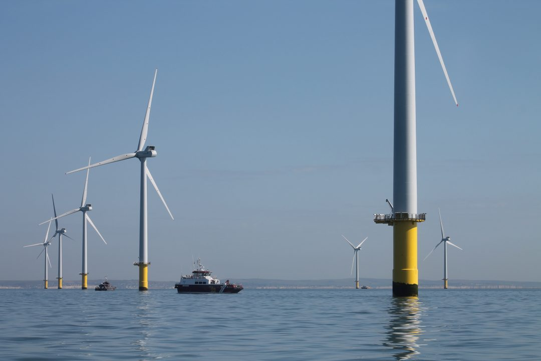 Operational Wind turbines