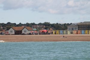 Cafe and Beach Huts at eaford